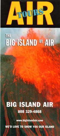 Big Island Air Tours Brochure