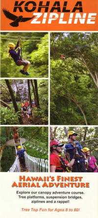 ... Kohala Zipline Kona Zipline ... & Hawaii Zipline Brochures - Zipline Tours - Big Island of Hawaii ...